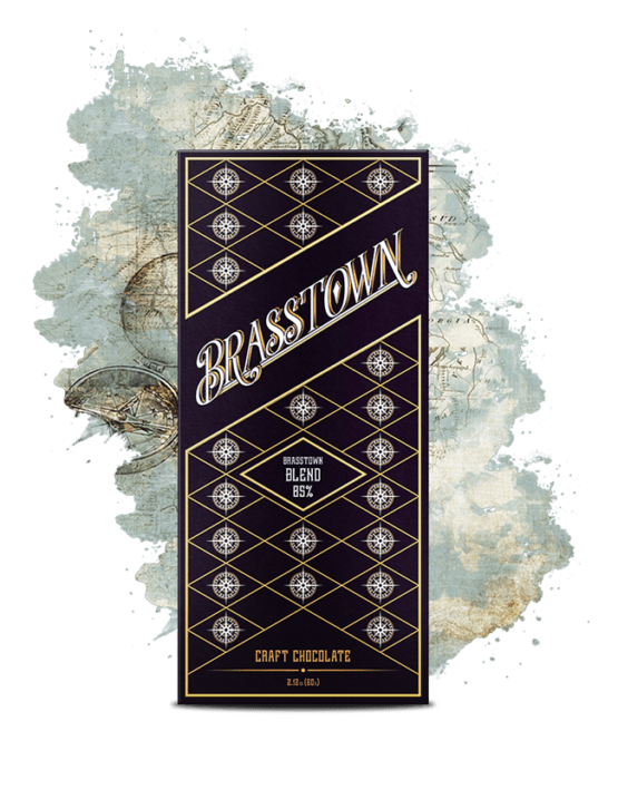 Brasstown Blend | High-quality dark chocolate with floral and coffee notes/ Brasstown Blend | High-quality dark chocolate with floral and coffee notes/