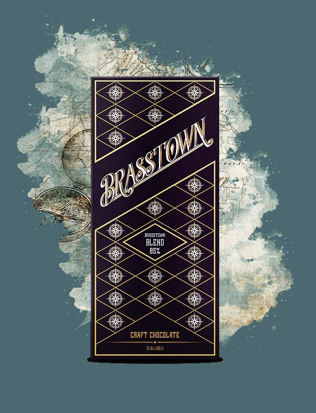 Brasstown Blend | High-quality dark chocolate with floral and coffee notes/ Brasstown Blend | High-quality dark chocolate with floral and coffee notes/