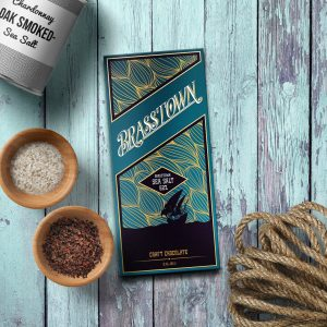 Bitter and sweet, Brasstown Sea Salt chocolate will leave you wanting more!