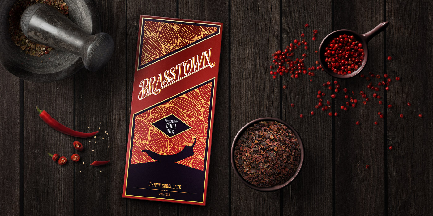 Brasstown Chili Craft Chocolate can make you experience taste on a whole new level!